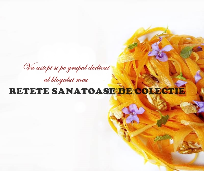 grupul RETETE SANATOASE DE COLECTIE