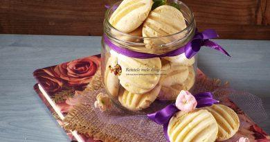 biscuiti fara gluten cu portocale