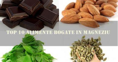 Top 10 Alimente bogate in MAGNEZIU