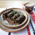 Sarmale cu quinoa si legume