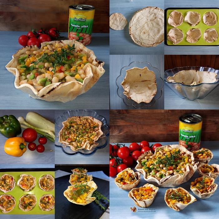tacos vegetarieni in cosulet de preparare