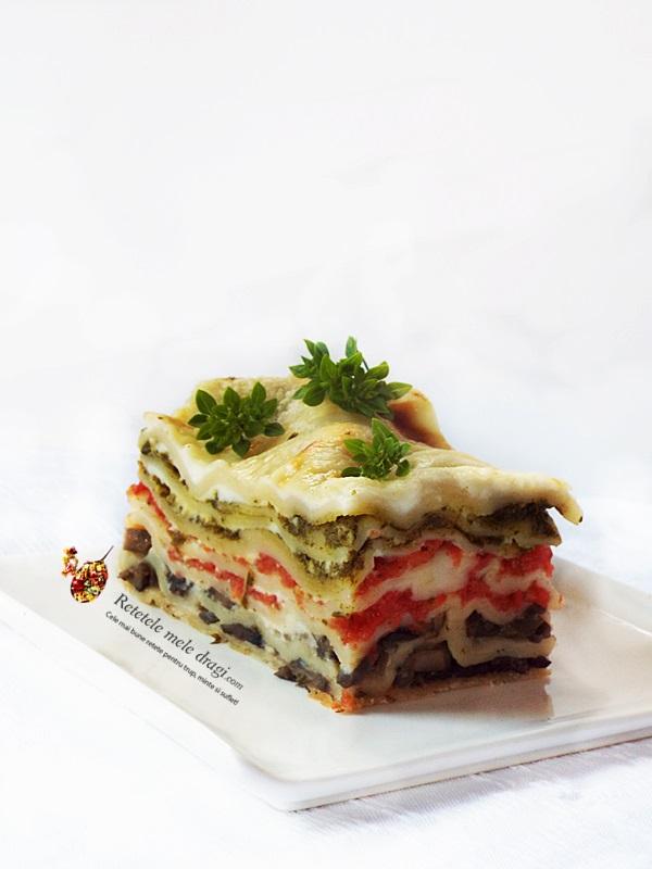 Lasagna in trei culori (de post) 1