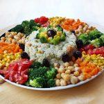 Salata de orez cu legume (de post)