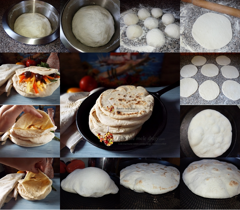 Pita greceasca preparare