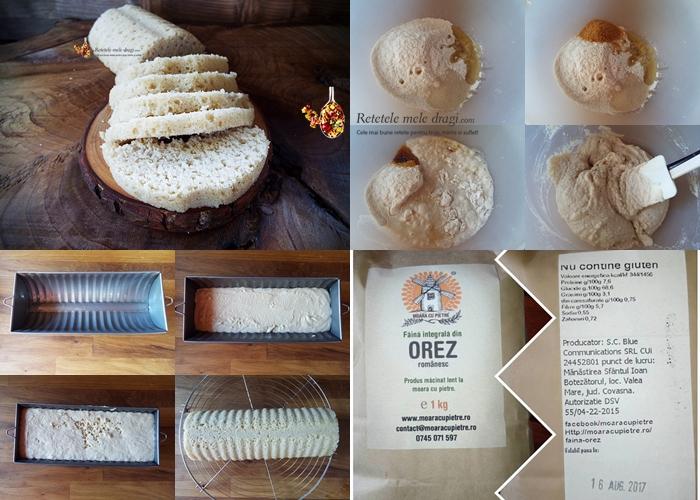 paine de orez in forma de chec preparare