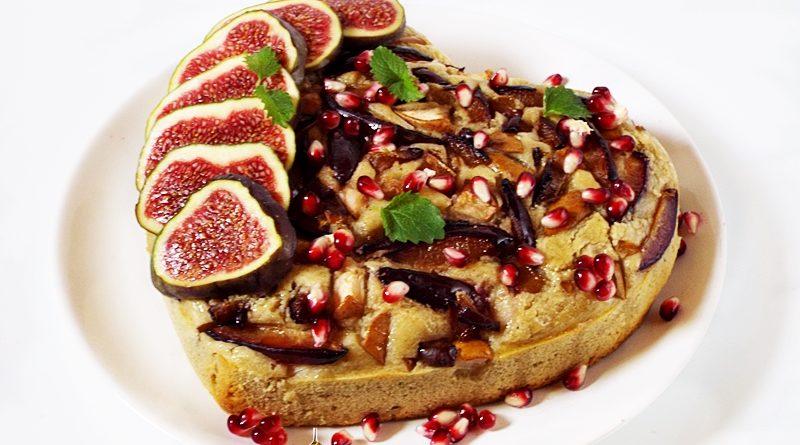 prajitura cu fructe de toamna 1