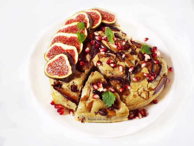 prajitura cu fructe de toamna 2