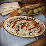 Hummus cu vinete coapte 1