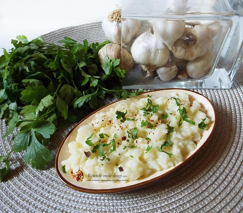 salata de conopida cu maioneza din cartof si hrean 1