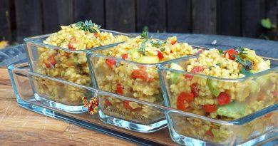 Pilaf turcesc din bulgur cu legume 0