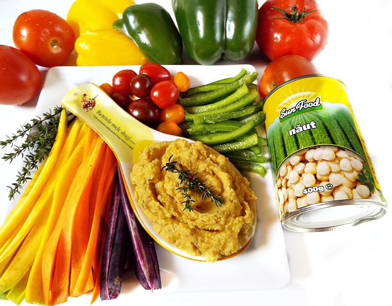 Hummus cu dovleac copt si cimbru 2