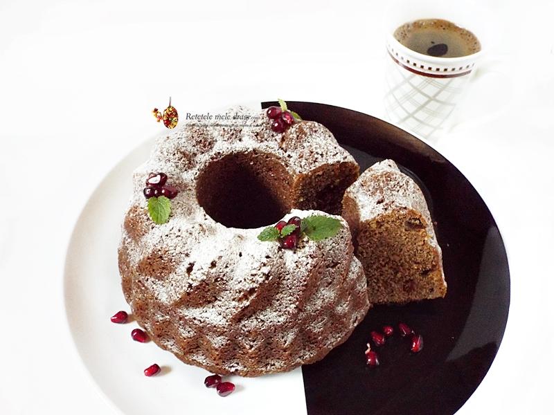 Mini bundt cu ciocolata si fructe uscate (guguluf) 1