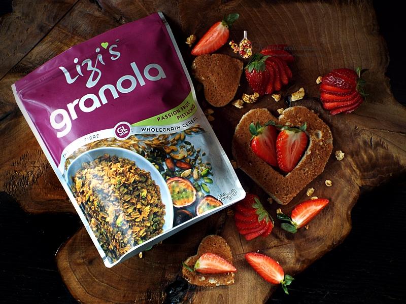 pancakes cu banane si granola 1