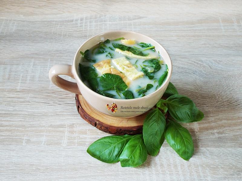 Ciorba de salatica (untisor) cu omleta 1