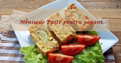 Meniu de Paste pentru vegani