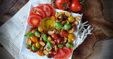 Salata Panzanella (Salata italiana de rosii si paine)