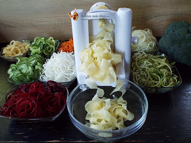 Spaghete din legume 1