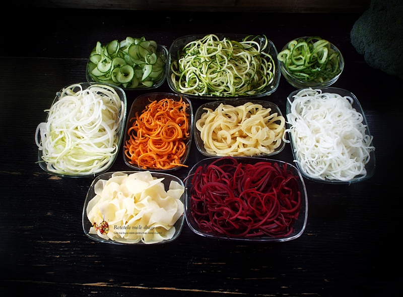 Spaghete din legume