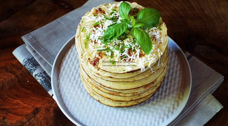 pancakes cu cartofi si branza 1