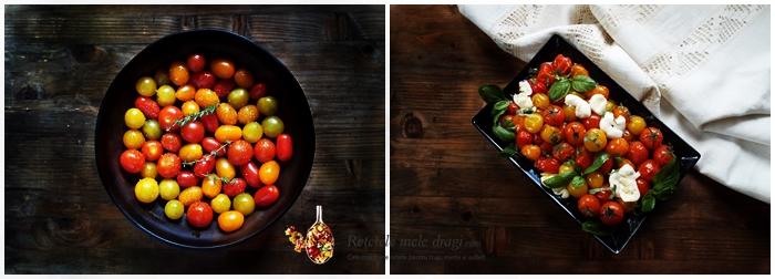 salata de rosii coapte cu mozzarella si busuioc 1