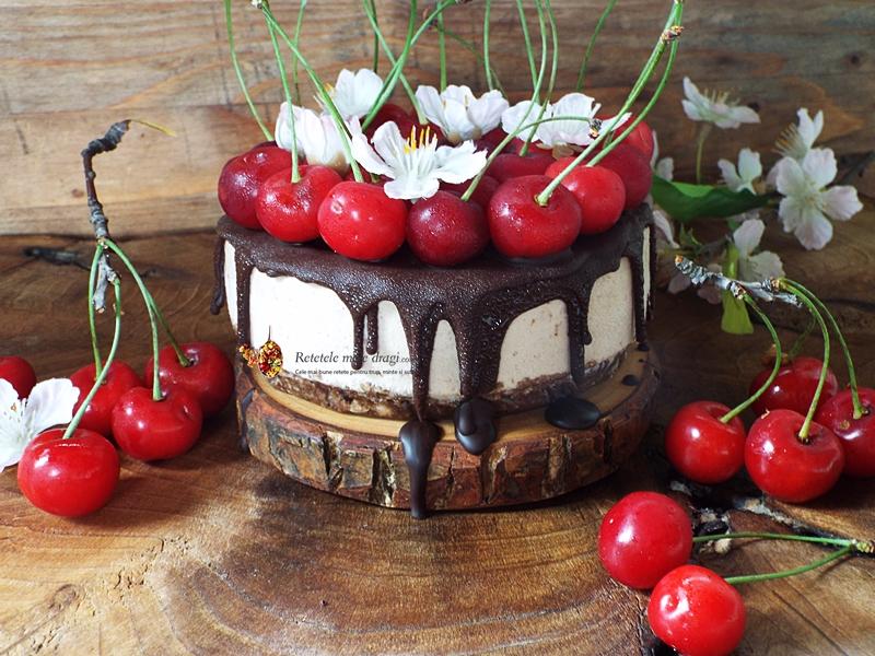 tort raw cu visine 1