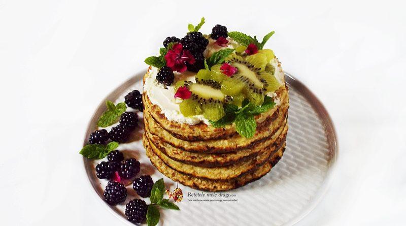 pancakes cu fulgi de ovaz si vanilie