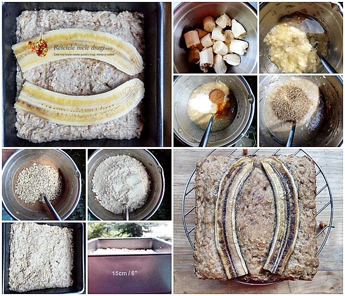 banana bread de post si fara zahar 2