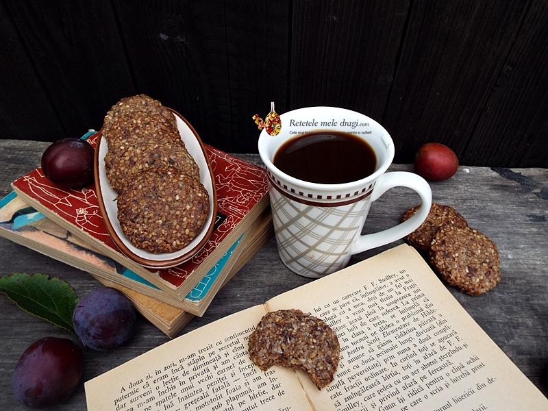 biscuiti cu seminte si scortisoara (fara gluten)