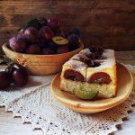 Prajitura turnata cu prune si scortisoara 1