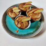 muffins cu mere caramelizate si scortisoara