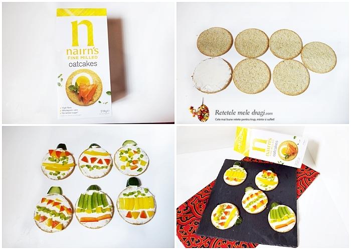 Aperitive festive de Craciun cu crackers 2