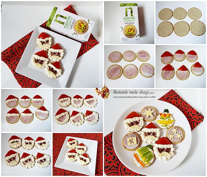 Aperitive festive de Craciun cu crackers 3
