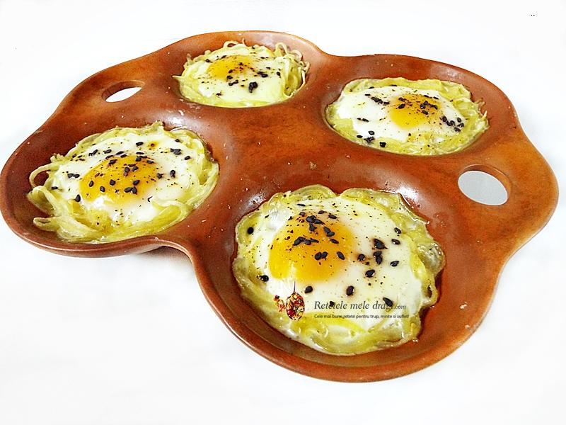 cuiburi de cartofi cu oua la cuptori