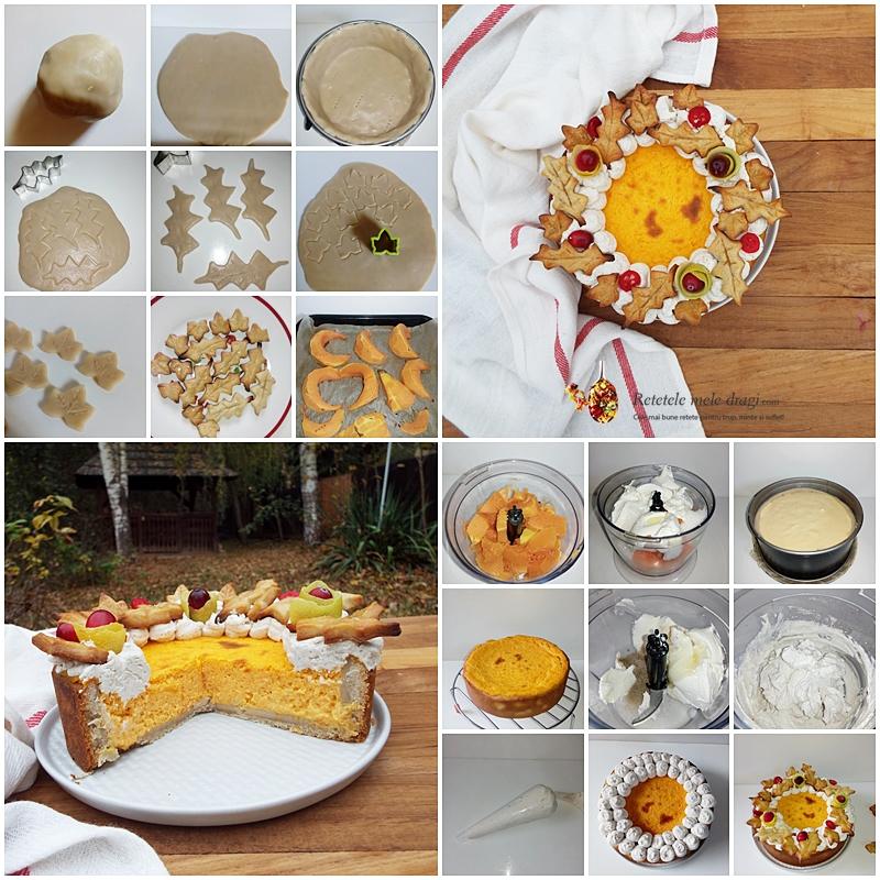 tarta cu dovleac si mascarpone