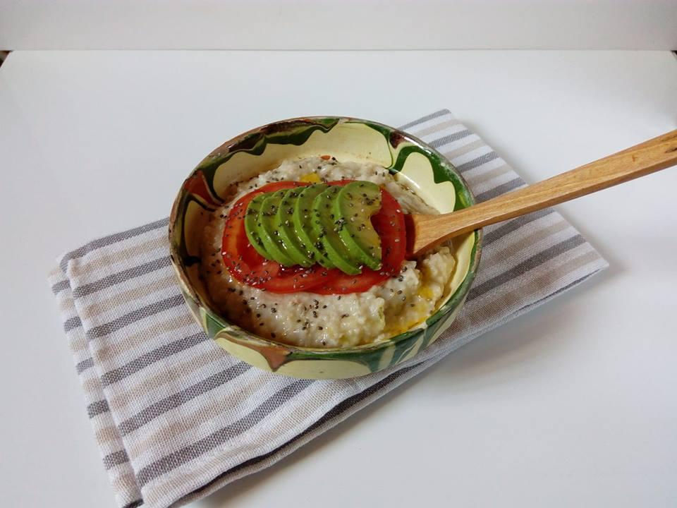Terci de ovaz (porridge) sarat pentru micul dejun