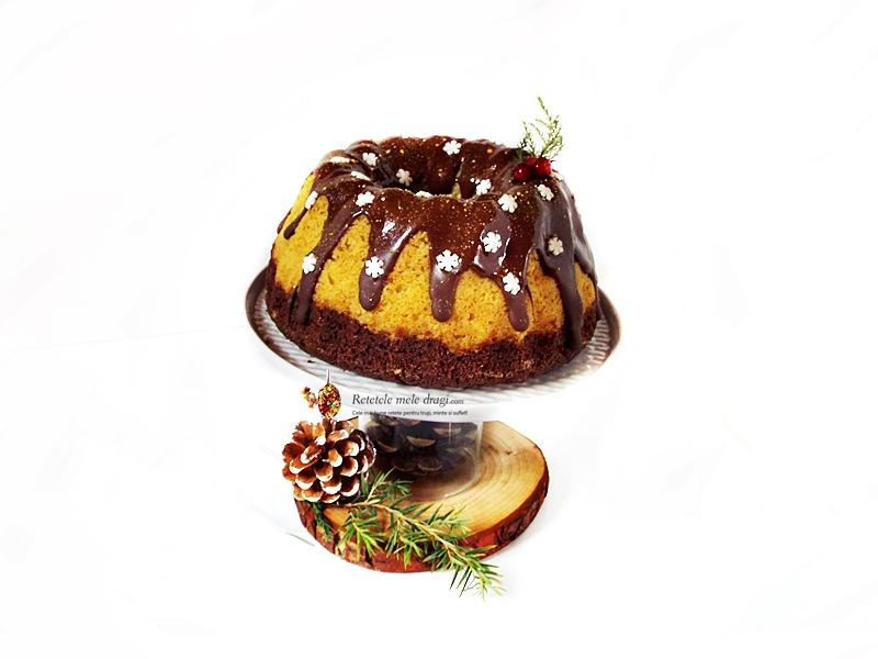 Chec cu doua tipuri de ciocolata (Guguluf Duo Chocolate)