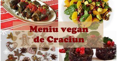 meniu vegan de Craciun