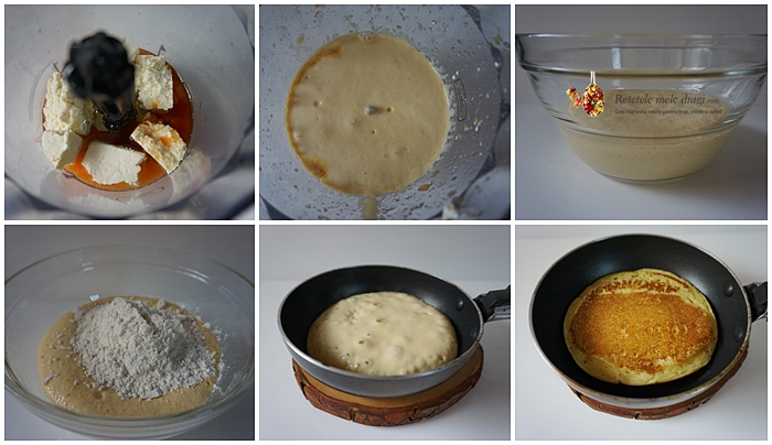pancakes cu urda si portocale rosii 2