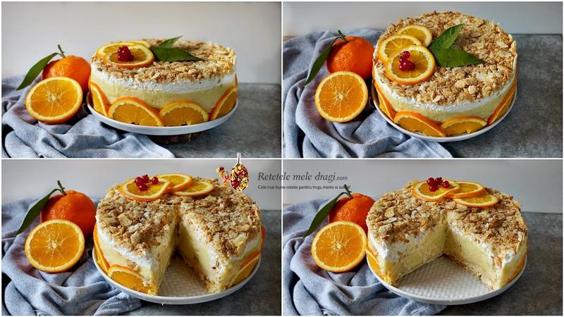 tort cremsnit cu portocale 3