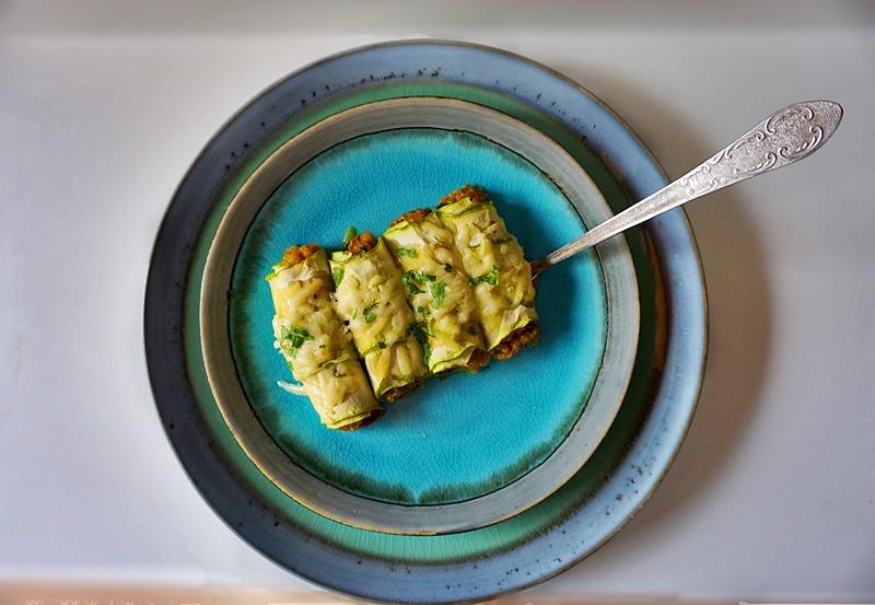 Rulouri din dovlecei cu quinoa