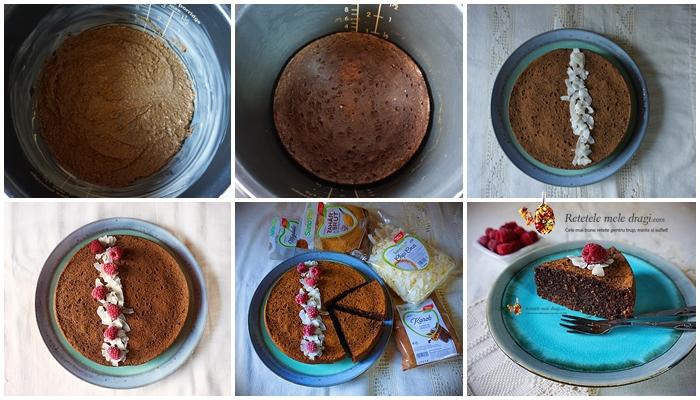 prajitura cu ciocolata fara gluten la multicooker preparare 1