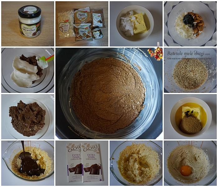 prajitura cu ciocolata fara gluten la multicooker preparare