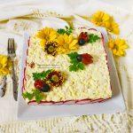 Porridge cu zmeură și trandafiri