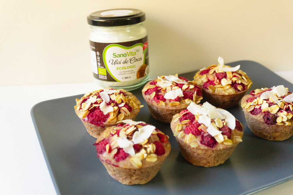 Muffins cu dulceata Blog SanoVita