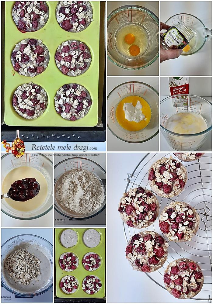 Muffins cu dulceata blog colaj