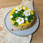 Salata din piept de pui si porumb