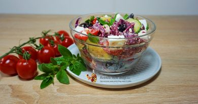 salata greceasca cu paste 0