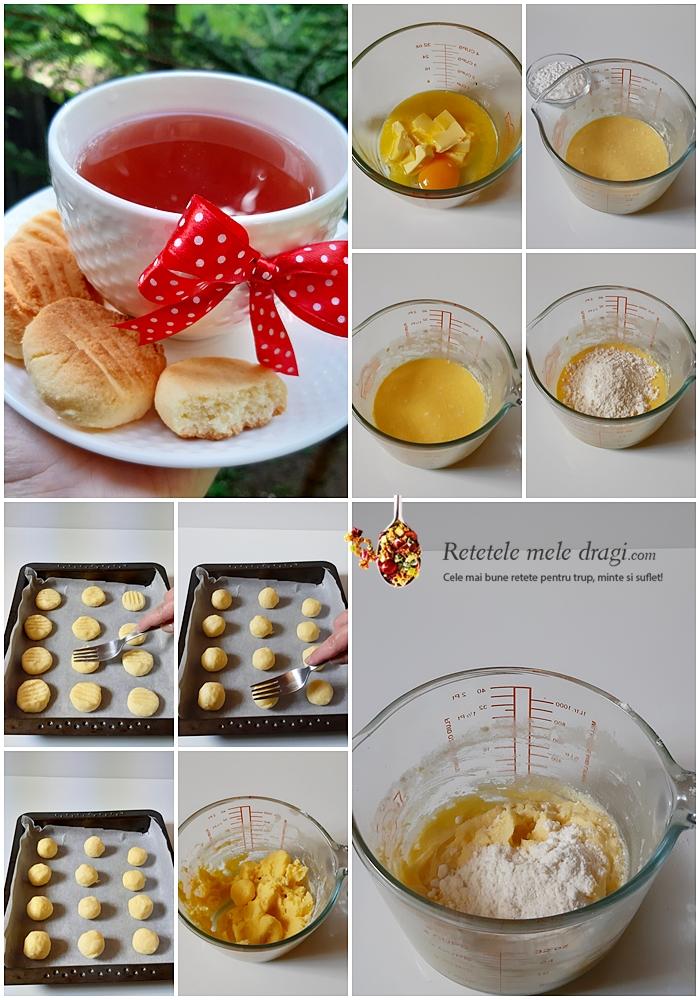 Biscuiti cu faina de cocos preparare