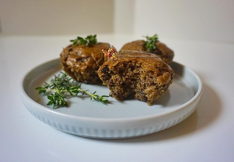 Briose aperitiv cu masline si cimbru 1