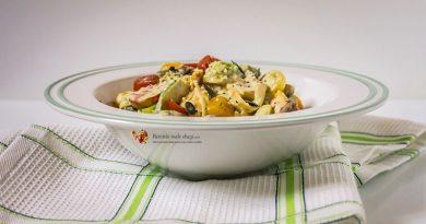 Paste cu somon și legume -2